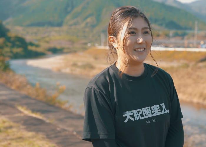 朝日 友江さん 大紀町地域おこし協力隊